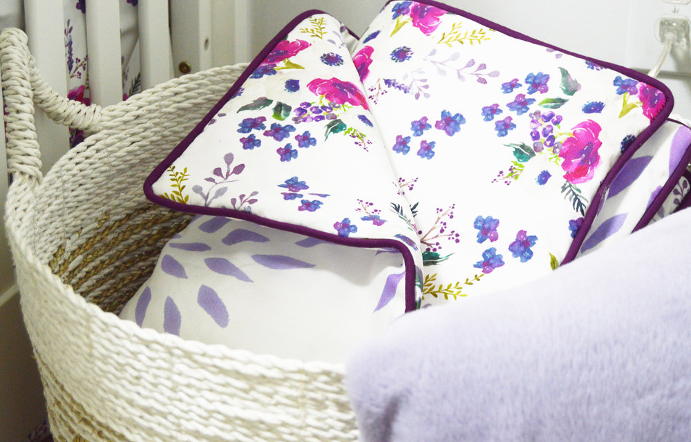 Spoonflower fabrics from my  Cedar Hill nursery project