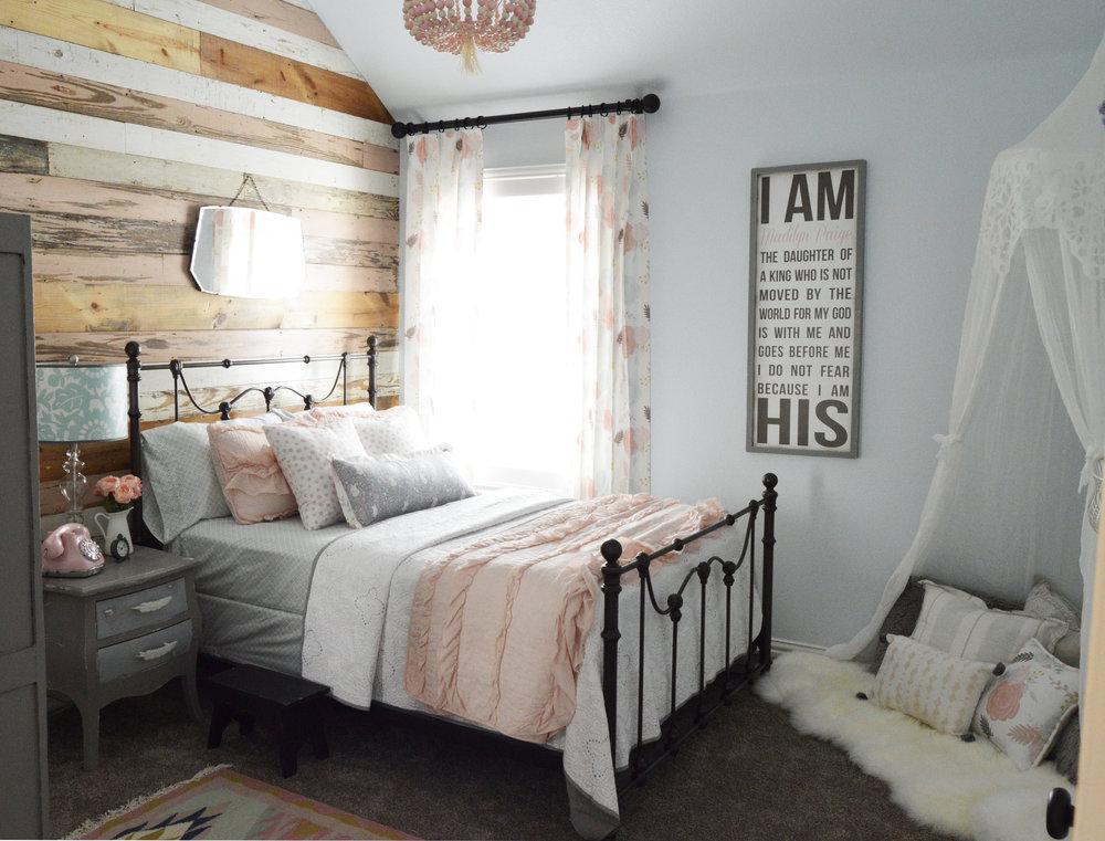 Room Reveal From Baby To Quot Big Girl Quot A Feminine And