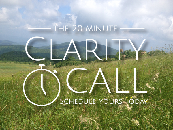 The 20 Minute Clarity Call