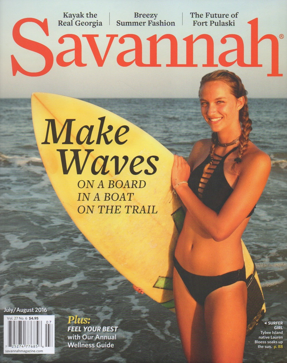 Savannah Magazine   July/August 2016