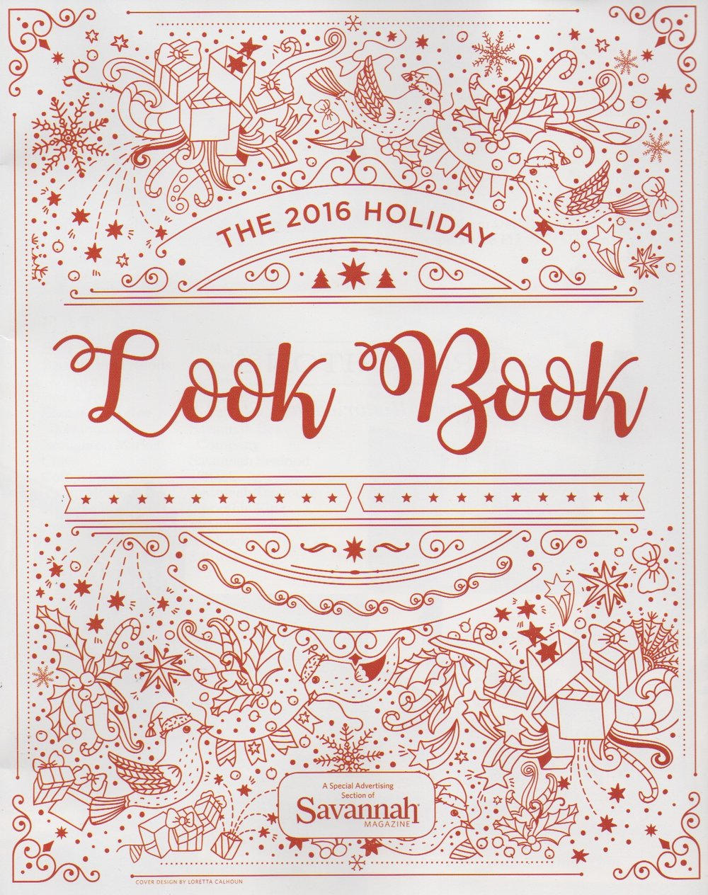 Savannah Magazine Holiday Look Book December 2016