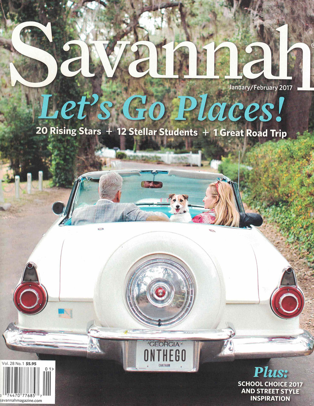 Savannah Magazine January/February 2017