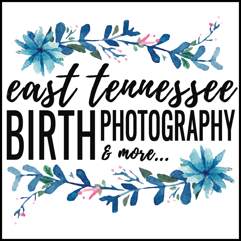 east tennessee birth photographers logo