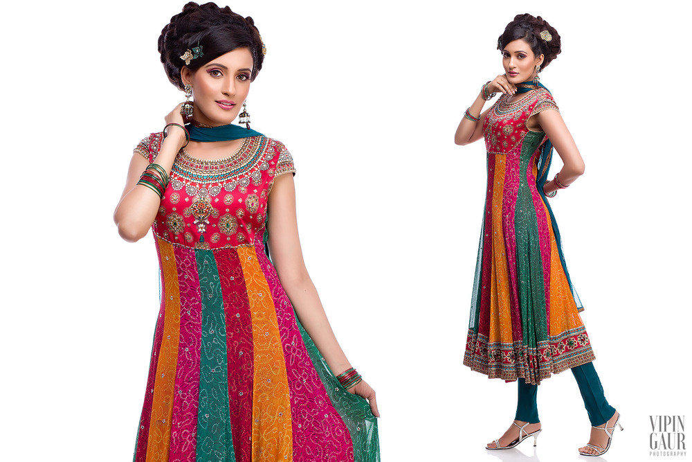 Colourful Stylish Indian wear