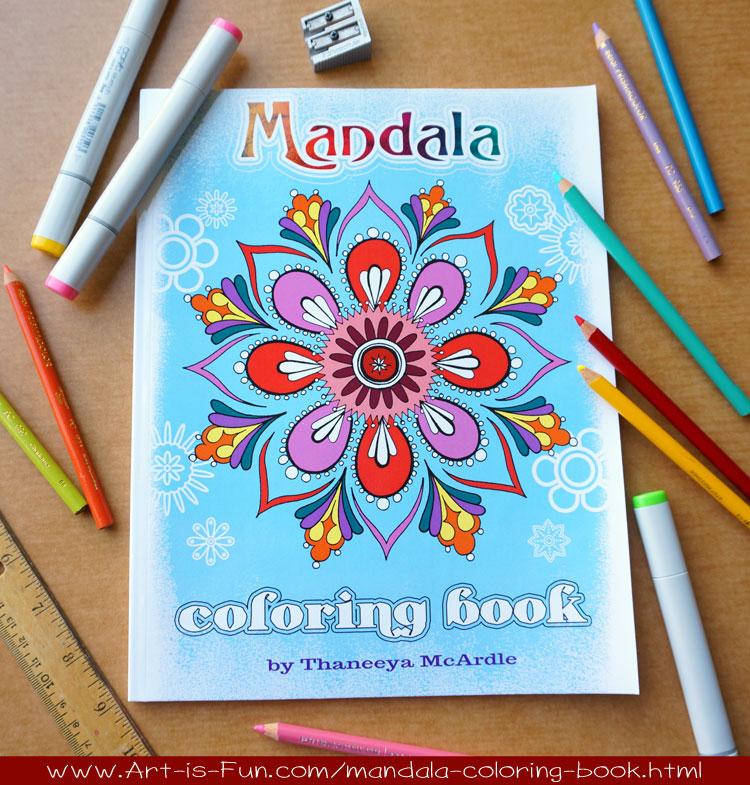Mandala Coloring Book by Thaneeya McArdle