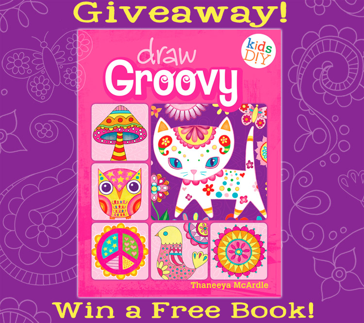 Enter for a chance to win a free copy of Draw Groovy by Thaneeya McArdle