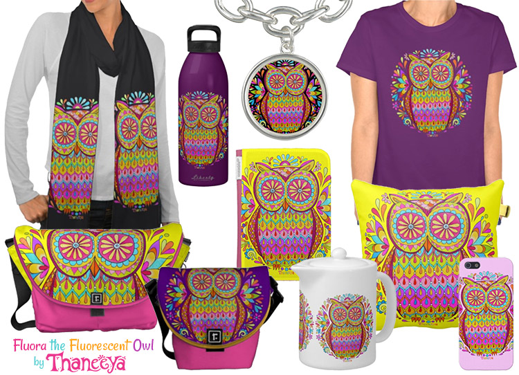 colorful-owl-art-iphone-cases-shirts-by-thaneeya-mcardle-750