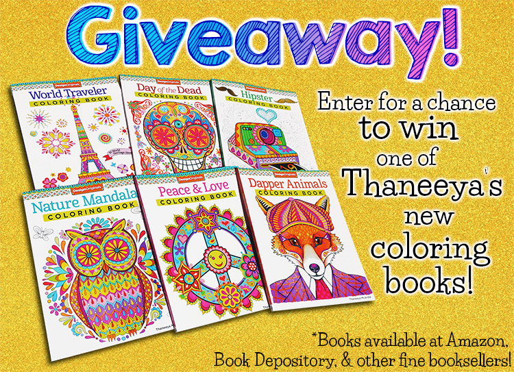Thaneeya's Coloring Book Giveaway!