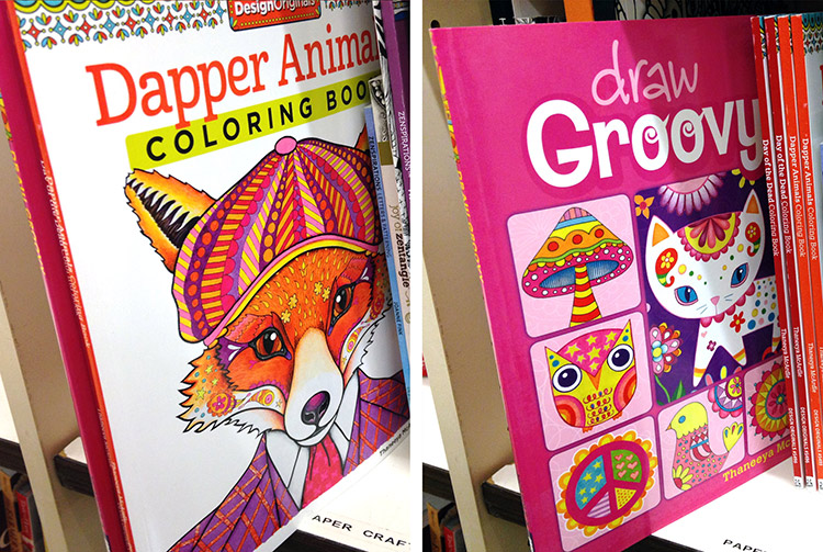 Thaneeya's books in Jo-Ann Fabric & Craft Stores