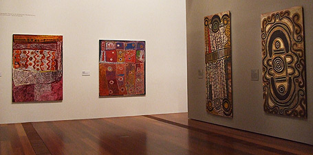Aboriginal Art in Gallery