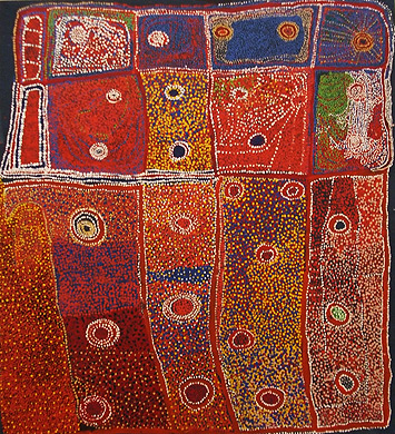 Aboriginal Art by Tommy Watson