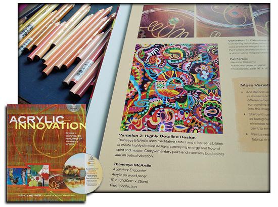 "Thaneeya's art in ""Acrylic Innovation"""