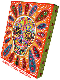 Sugar Skull Art Day of the Dead
