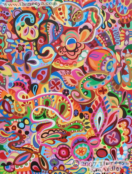 Colorful Abstract Art Detailed Psychedelic Abstract Paintings And Classy Pattern Art