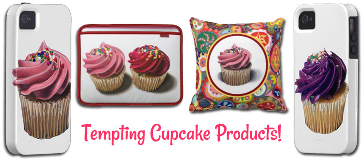 Tempting Cupcake Products by Thaneeya