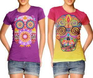Cool Colorful Shirts by Thaneeya