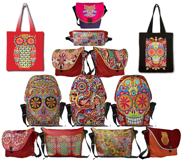 Colorful Bags by Thaneeya