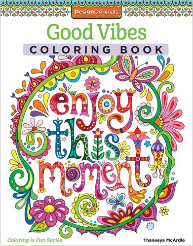 good vibes coloring book by thaneeya mcardle - Coulering Book