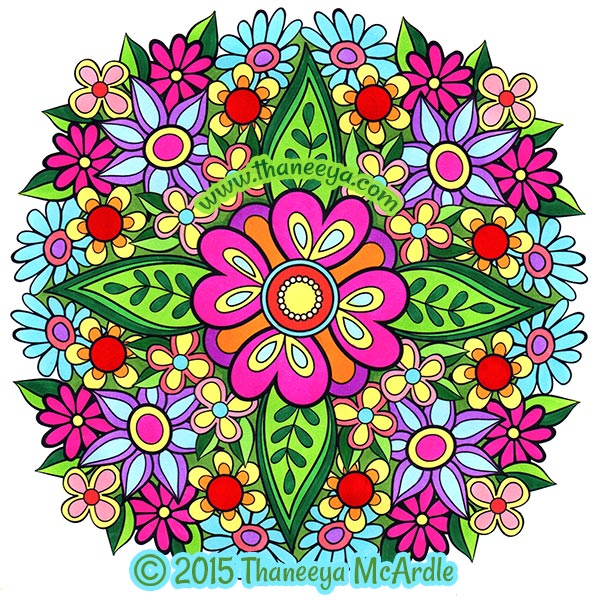 Mandala Coloring Page By Thaneeya McArdle