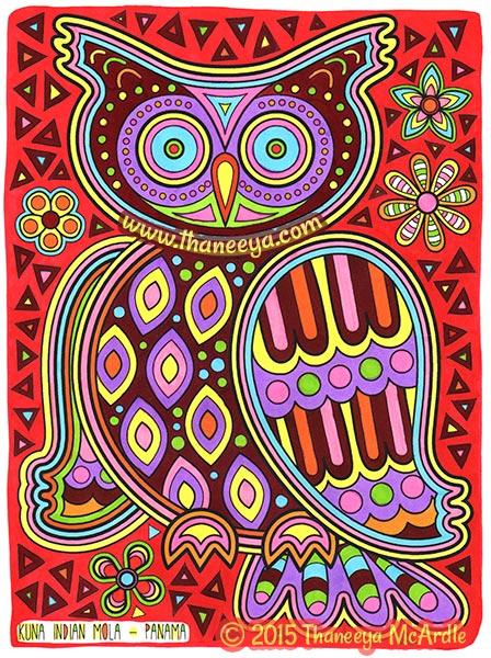 Folk Art Coloring Book By Thaneeya McArdle Thaneeya