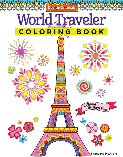 World Traveler Coloring Book by Thaneeya McArdle