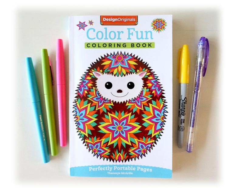 Color Fun Portable Coloring Book by Thaneeya McArdle