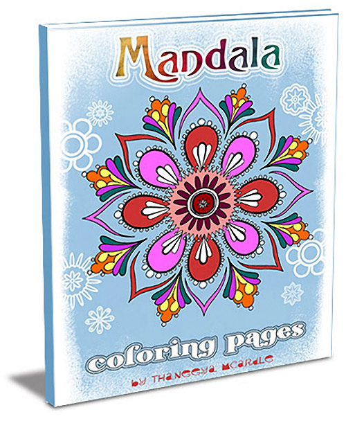 Mandala Coloring Pages by Thaneeya McArdle