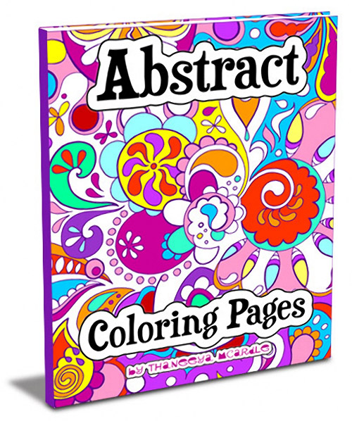 Abstract Coloring Pages by Thaneeya McArdle