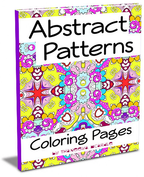 Abstract Patterns Coloring Pages by Thaneeya McArdle