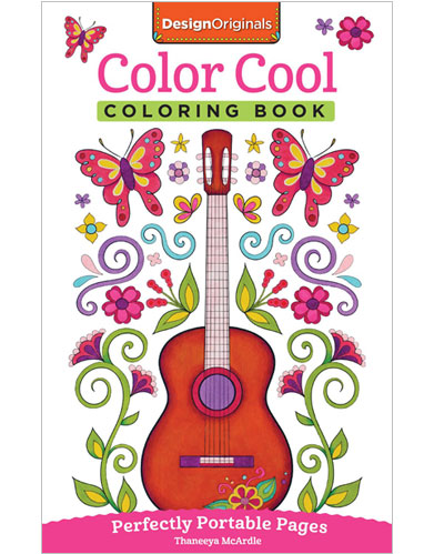 Color Cool Coloring Book by Thaneeya McArdle