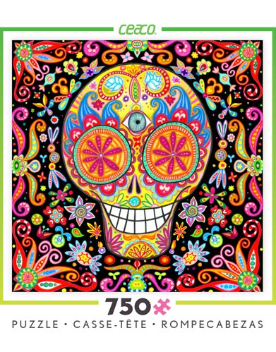 Sugar Skull Jigsaw Puzzles by Thaneeya McArdle