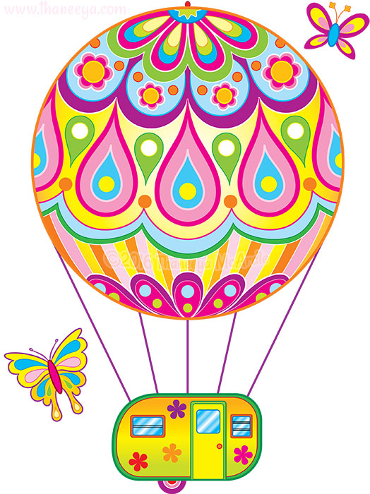 Hot Air Balloon by Thaneeya McArdle