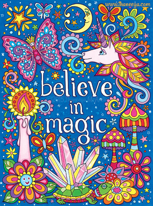 Believe in Magic by Thaneeya McArdle