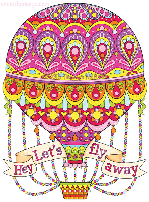 Hey Let's Fly Away by Thaneeya McArdle
