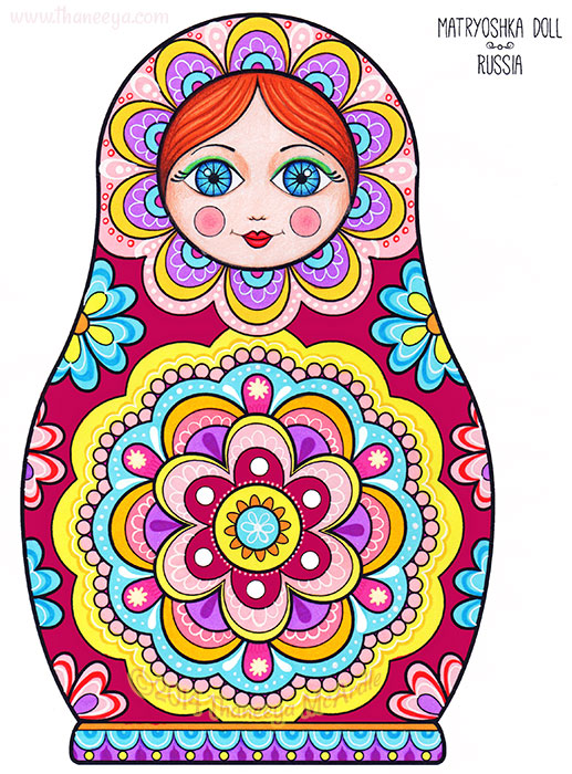 Matryoshka Doll by Thaneeya McArdle