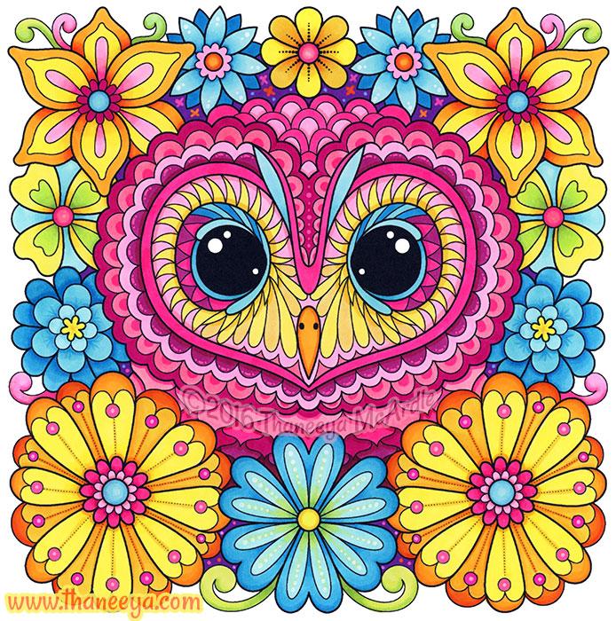 African Wood Owl by Thaneeya McArdle