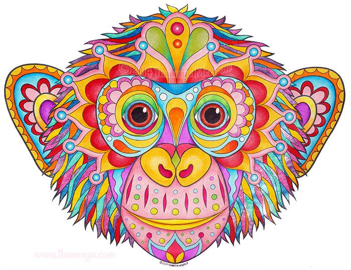Chimp by Thaneeya McArdle