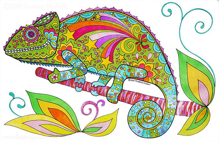 Chameleon By Thaneeya McArdle