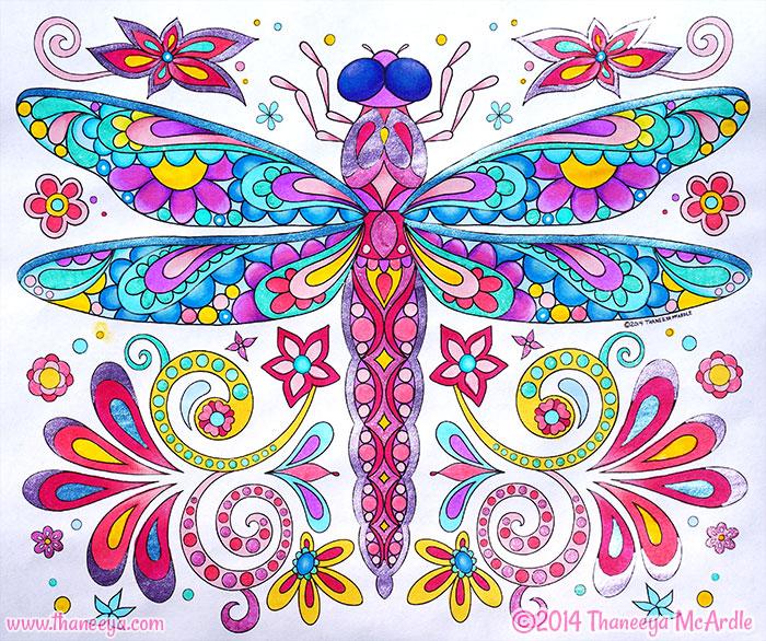 Dragonfly by Thaneeya McArdle