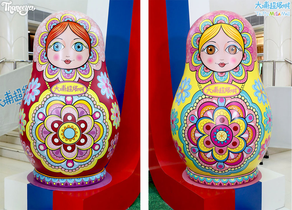 Life-Sized Russian Nesting Dolls Designed by Thaneeya McArdle