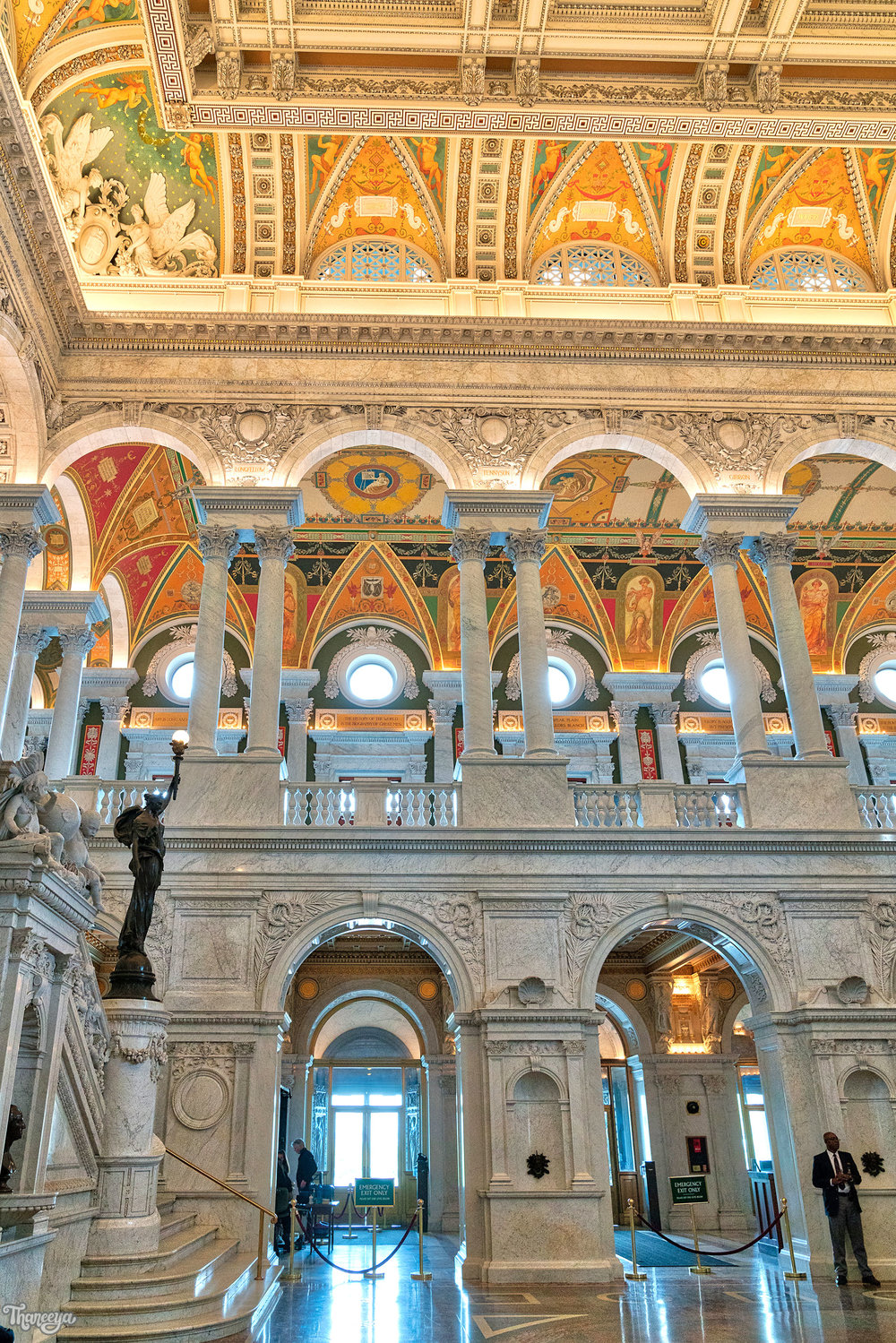 Jefferson Building, Library of Congress, Washington, DC.