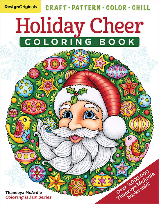 Holiday Cheer Coloring Book by Thaneeya McArdle