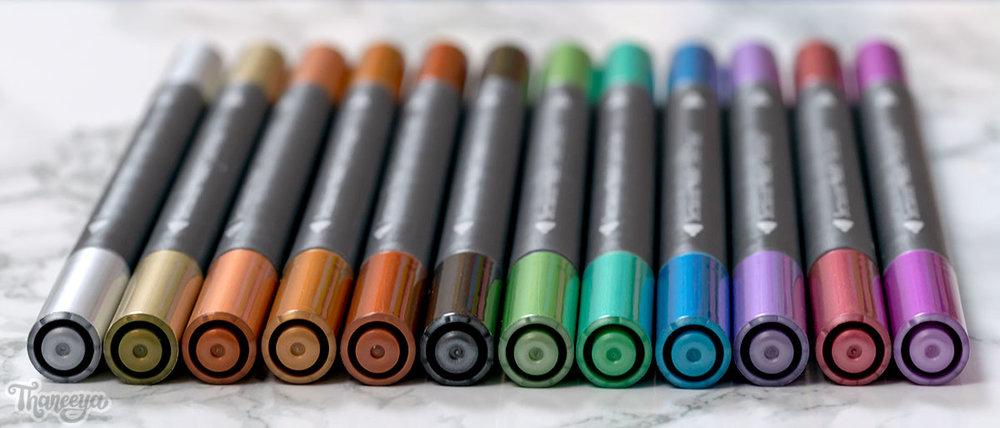 Spectrum Noir Metallic Markers