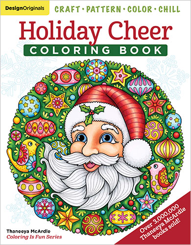 Holiday Cheer Coloring Book by Thaneeya McArdle