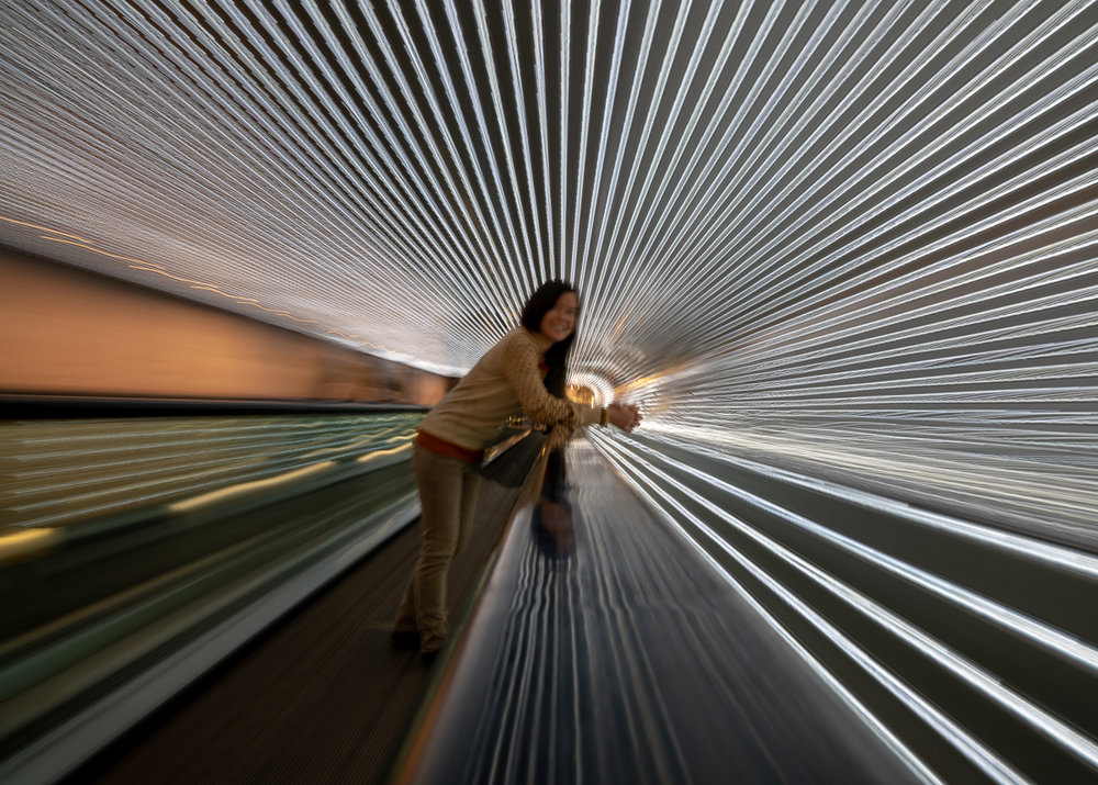 Leo Villareal's  Multiverse  installation at the National Gallery of Art in Washington, DC