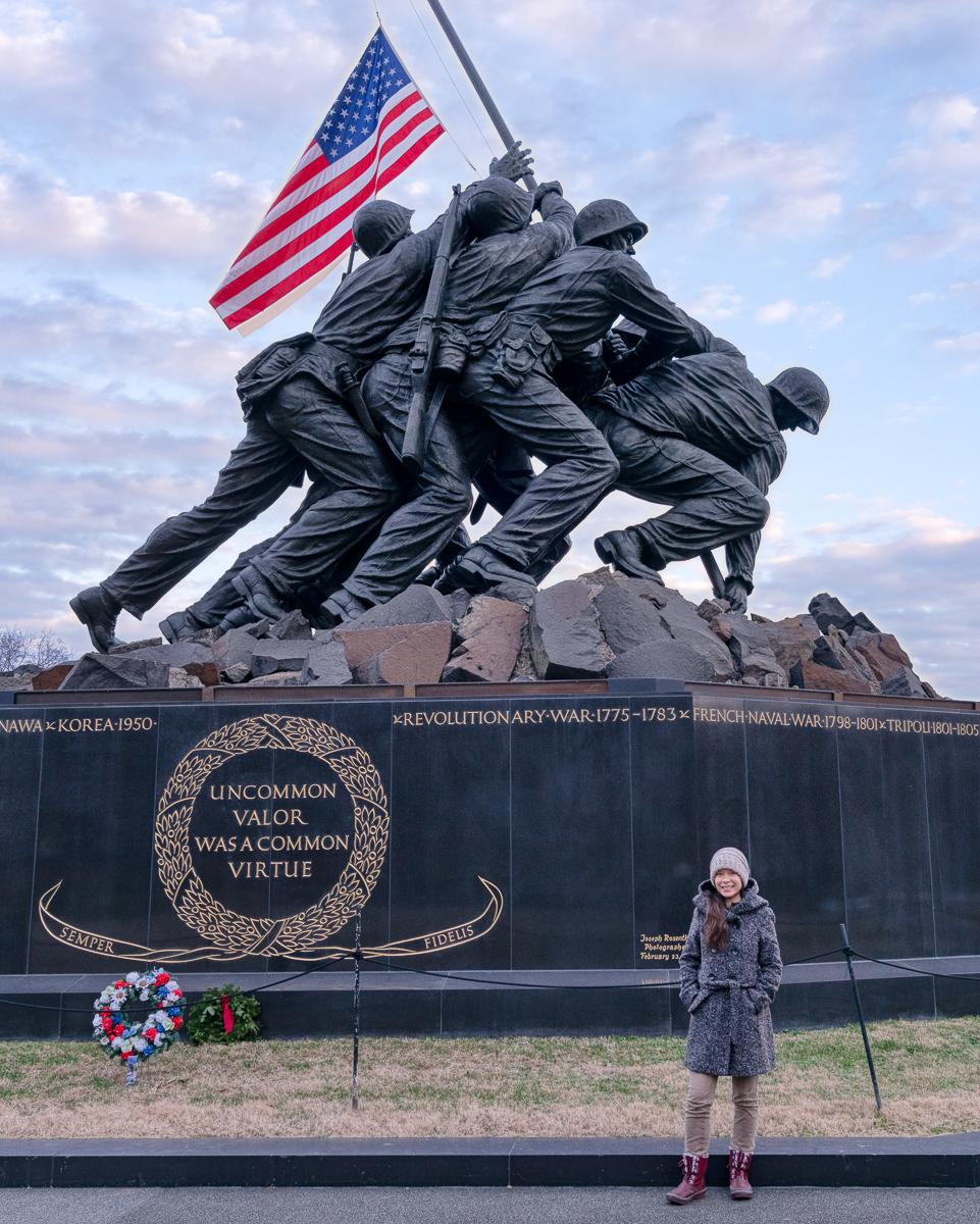 Marine Corps War Memorial (Iwo Jima Memorial)