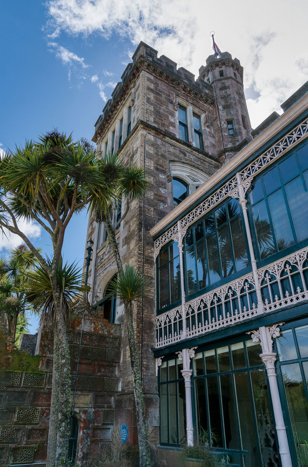 Larnarch Castle in New Zealand
