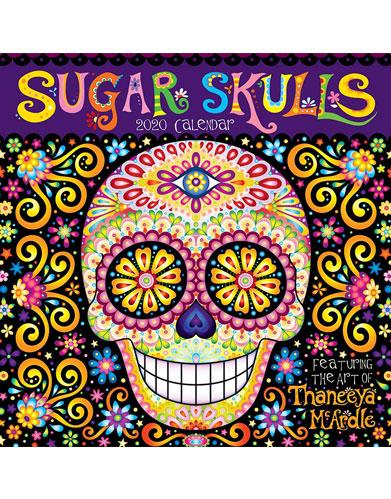 2020 Sugar Skulls Wall Calendar by Thaneeya McArdle