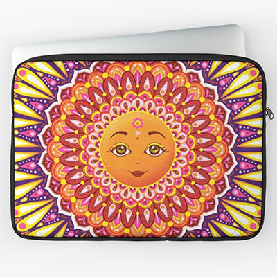Laptop Sleeves with Art by Thaneeya McArdle
