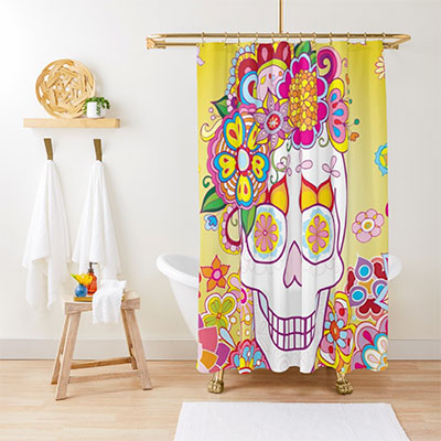 Shower Curtains with the Art of Thaneeya McArdle